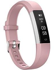 moreFit Slim 2 Fitness Tracker, Schlafmonitor Smart Armbänder, Aktivitätstracker, Kalorienzähler, Entfernungs-Rechner, Schrittzähler Uhr für iphone 8/7/ 6 / Samsung S8 / Galaxy / IOS / Android
