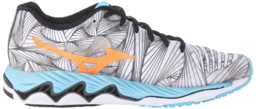 Mizuno Wave Paradox Toile Baskets White-Orange-Blue