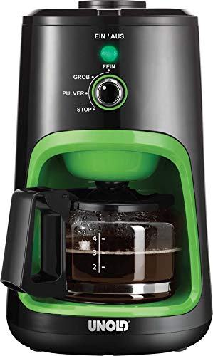 Unold 28722 Green Coffee Maker Grinder Compact