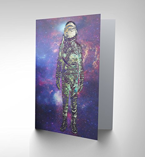 card-greeting-df-spaceman-galaxy-stars-cosmic-space-stars-gift-cp2407