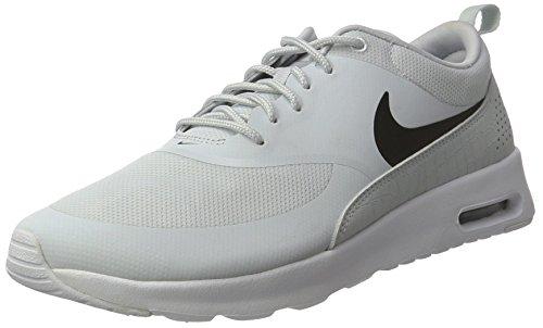 Nike Air Max Thea, Baskets Femme Gris (Pure Platinum/black-white)