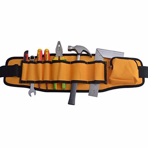 8pocekt Elektriker Werkzeug Gürtel/Tasche Öl gegerbtes Taille Tools Organizer Tasche