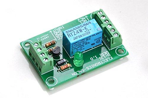 Electronics-Salon Relais de signal DPDT, 24Vdc, relais RY24W-K. A assemblé.