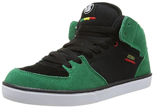 DVS Torey Ctx Jungen Tennisschuhe Grün (Vert (Black Green Suede))