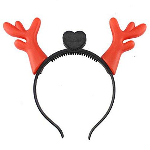 e Requisiten Weihnachten Kopfschmuck Mit Lichtern Glühend Stirnband (Halloween-hut Stirnbänder)