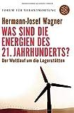 Was sind die Energien des 21. Jahrhunderts?: Der Wettlauf um die Lagerstätten (Forum für Verantwortung) - Hermann-Josef Wagner