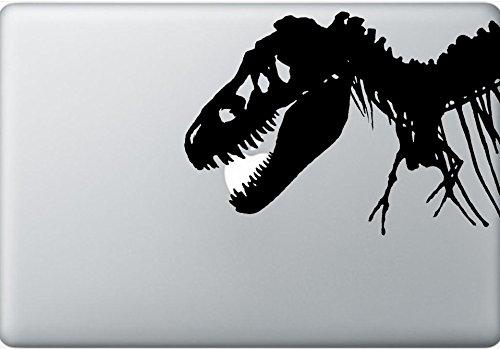 AtomInc's T-Rex Macbook Vinylaufkleber, ideal für Laptops, Dekoration und Wände.