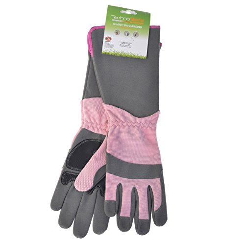 Green Gloves gar1910lp08 Gartenhandschuhe Rose, Pink, Grau, 08