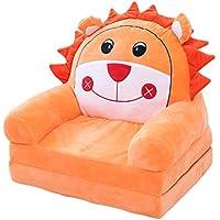 Preisvergleich für ALUK- small stool Kindersitz Niedlichen Cartoon Stuhl Kissen Kinderzimmer Lesestuhl Farbe Schöne Bequeme Mini Sofa 50 cm * 40 cm * 47 cm