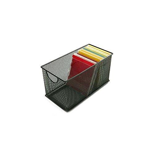 Design-Ideen CD Box Mesh schwarz Mesh-design-ideen