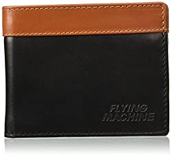 Flying Machine Black Tan Mens Wallet (FMAW0238)