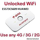 #10: Airtel New Model Unlocked Works With Any (Idea,Vodafone,Airtel,Jio,Airel,Bsnl)Gsm 2G/3G/4G Simcards With Battery Backup Wifi Share Upto 10 Devices - Airtel 4G Data Product