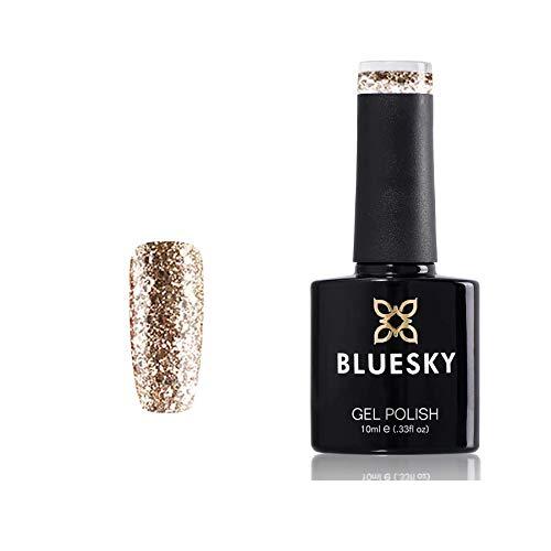 /LED KS Range Glitter Colour Gel Nagellack, 10ml, Luxus Gold ()