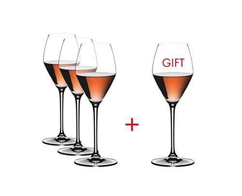 RIEDEL Extreme Rosé/Champagne Kauf 4 Zahl 3, Champagnerglase, Sektglas, Hochwertiges Glas, 322 ml,...