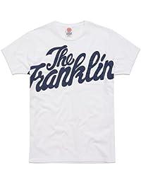 Franklin & Marshall Herren T-Shirt Weiß Weiß