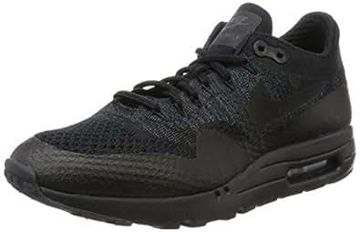 info for b9117 fb422 Nike Mens Air Max 1 Ultra Flyknit Triple Black Black ...