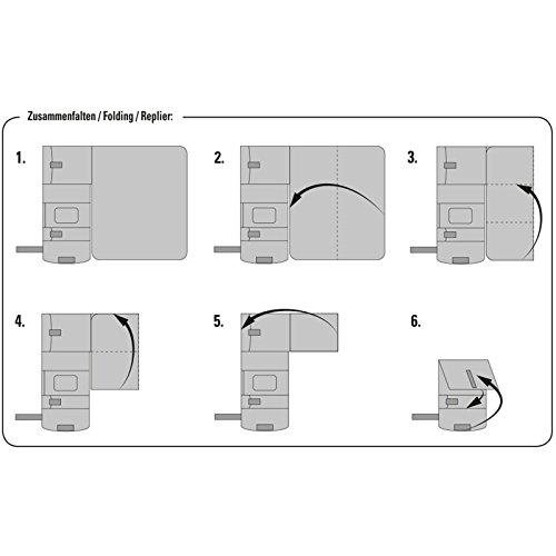 DIO 30092.75321 Quick & Easy Wickel Kit, praktische Wickelunterlage für Unterwegsl - 5