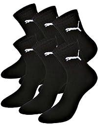 Puma - Chaussettes de sport - Uni - Lot de 3