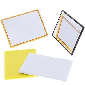 eckiger kleiner taschen spiegel handspiegel kosmetex spiegel mit kunststoff korpus. Black Bedroom Furniture Sets. Home Design Ideas