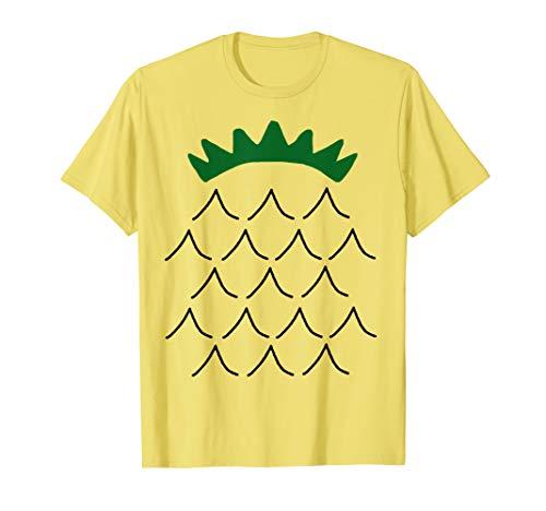 Halloween Kostüm Ananas - Ananas Kostüm - Pineapple Costume - Cute Halloween Fruit T-Shirt