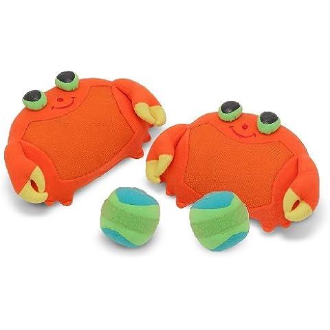 Melissa e Doug Crab Clicker Toss e Game Grip. Giocattoli importato dal Regno Unito.