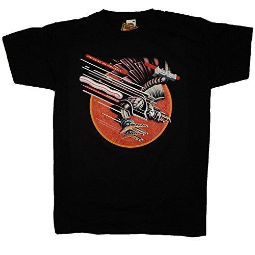 Judas Priest que grita y pantalla a juego para Vengeance producto oficial de T-camiseta de manga corta