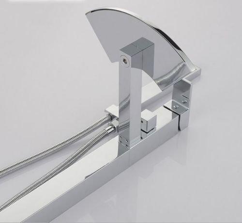 UHM, Wasserfall, Whirlpool Badewanne montieren Filler faucet mixer freistehende Dusche - 6