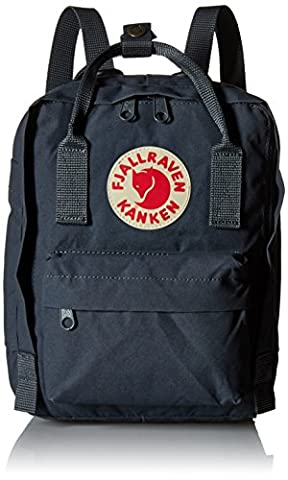 Fjallraven Kanken Mini Backpack - Graphite, One Size