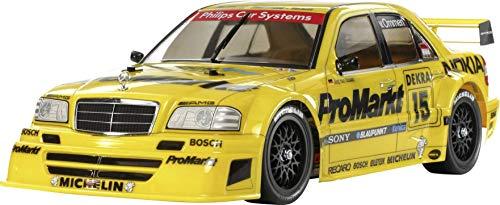 TAMIYA 47379 - 1:10 RC ProMarkt-Zakspeed C-Kl. TT-01E, ferngesteuertes Auto/ Fahrzeug, Modellbau, Bausatz, Hobby, Basteln, Kleben, Modellbausatz, Modell, Zusammenbauen