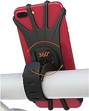 Bovon 360 Grad Handyhalterung Fahrrad Eigenschaft: Hält Ihr Gerät jederzeit griffbereit, einfach dasTelefon ein- und ausschalten. Flexibles Silikon-Design absorbiert alle Stöße, lässt sich mittels der Klemme auch fest und sicher befestigen. Weiche Si...