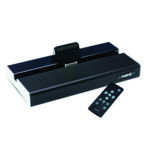 Logic3 MPS024K i-Station Base Lautsprecher und Standfuß für iPad/iPad2 6w Ipod-docking