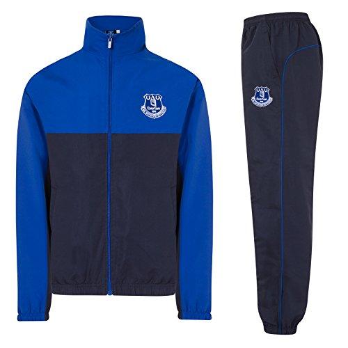 Everton FC - Herren Trainingsanzug - Jacke & Hose - Offizielles Merchandise - Geschenk für Fußballfans - L -