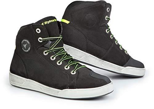 STYL Martin Frecce Scarpe Stivaletto Sneaker Seattle Evo Nero Taglia 42
