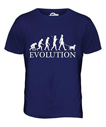 Candymix - Welsh Springer Spaniel Evolution Of Man - Mens T Shirt Top T-Shirt
