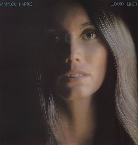 Emmylou Harris Luxury Liner 1977 UK vinyl LP K56334