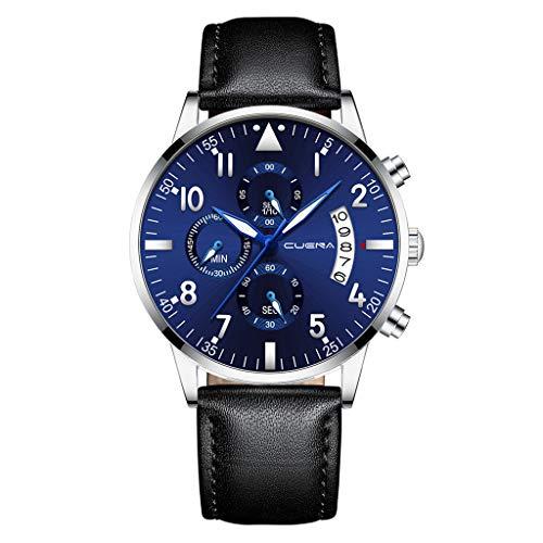 Hansee Herren Quarz kostbare Armbanduhr Minimalistisch Casual Stil Magische Klassische Uhren Gr. Einheitsgröße, g