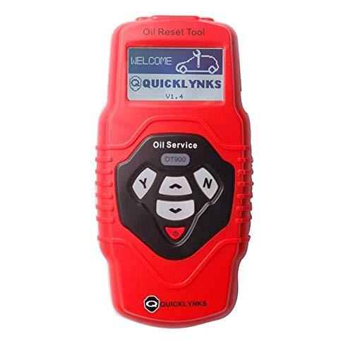 Qicheyi OBD2 Code Scanner, Professionale Servizio Di Olio E Airbag Reset Tool, Multilingue E Aggiornabile, Estremamente Facile Da Usare Con Navigazione Intuitiva, Disegno Ergonomico