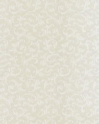 5380 - Angélique Swirls Crème Blanc Galerie Wallpaper