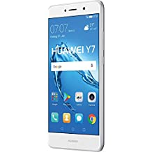 "Huawei Y7 SIM doble 4G 16GB Plata, Color blanco - Smartphone (14 cm (5.5""), 1280 x 720 Pixeles, Plana, 16:9, Multi-touch, Capacitiva)"
