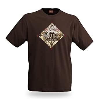 The Hobbit - An Unexpected Journey - Thorin Oakenshield T-Shirt - Brown - S