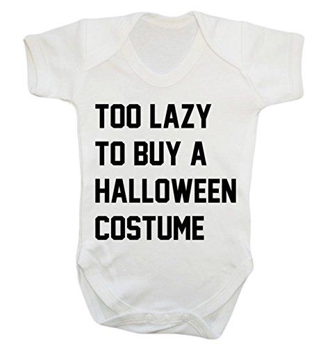 Halloween-Kostüm Baby Weste Body Strampler Gr. XXXL , weiß (Funny Newborn Kostüme)