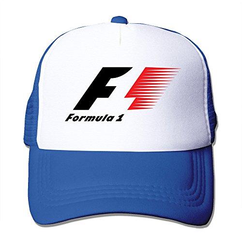 Feruch FIA Formula 1 World Championship Logo Baseball Cap RoyalBlue