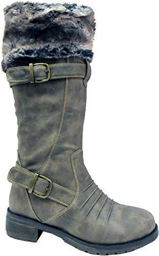 RTB, Bottes pour Femme Grey No Socks