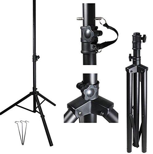 StilBest® Dreibein Sat-Stativ Aluminium 1,6m Ø40mm | Antennenstativ für Camping Balkon oder Urlaub