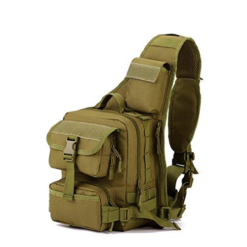 Moresave Stadt Ranger Pack Kameratasche Außenreitschultertasche Mann Messenger Chest Camo Beutel Freizeit Paket (Pak Sling Extreme)