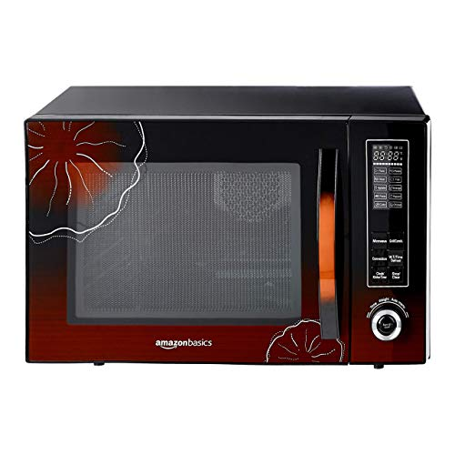 8. AmazonBasics 30 L Convection Microwave (Black)