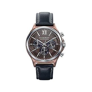 Viceroy Reloj Cronógrafo para Hombre de Cuarzo con Correa en Cuero 471109-43
