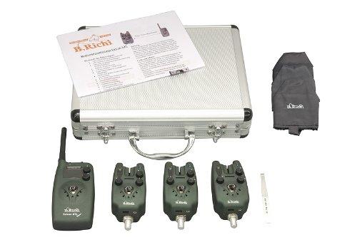 B.Richi Falcon STL Digital Funk-Set 3+1/ Ampelfarben Bissanzeiger Funkbissanzeiger (Falcon-sets)