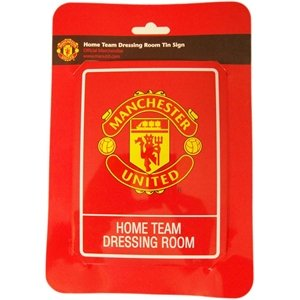 Manchester United Dressing Room Sign - Schild-dressing
