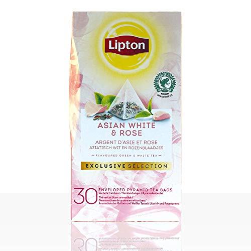 Lipton Tee Exclusive Selection Asian White & Rose 6 x 30 Beutel á 1,6g - Tee-orange Lipton